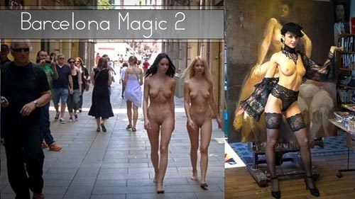 Naturally Naked Nudes - Barcelona Magic 2