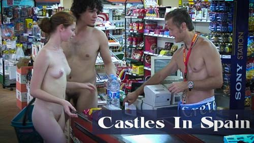 Naturally Naked Nudes - Castles in Spain
