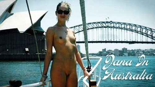Naturally Naked Nudes - Jana in Australia
