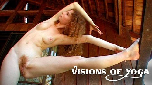 Naked girls yoga