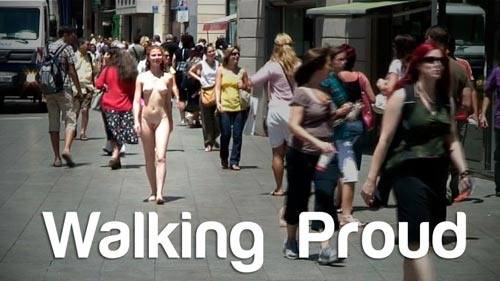 Naturally Naked Nudes - Walking proud