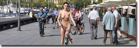 Gwen bicycles in Barcelona