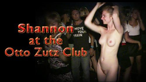 Naturally Naked Nudes - Shannon at the Otto Zutz Club