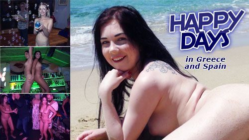 Naturally Naked Nudes - Happy Days