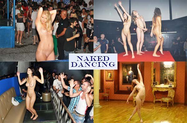 Naked girls dancing