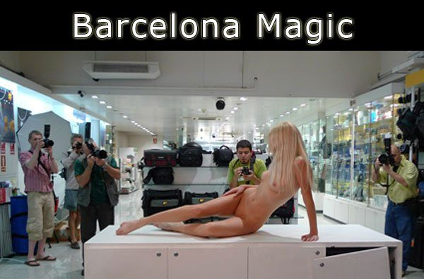 Naturally Naked Nudes - Barcelona Magic