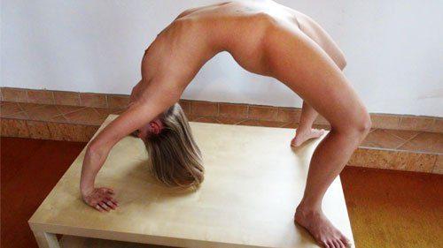 Nude Yoga with Tereza
