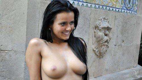 Marketa poses for NaNaNu-Naturally Naked Nudes camera